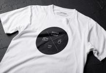Un t-shirt publicitaire